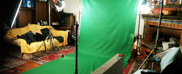 CREARE UN GREEN SCREEN SET LOW COST